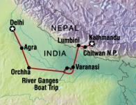 Kathmundu to New Delhi
